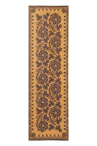 Achla Designs Fruticosa Tapis de Sol, 2 en 20,3 cm, Cannelle