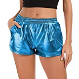 Mobast Femme Short De Sport Court Slippé LéGer Anti Transpirant Course Jogging Yoga Gym Short De...