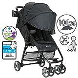 ZOE XL1 Deluxe Xtra Lightweight Travel & Everyday Umbrella Stroller System (Black)