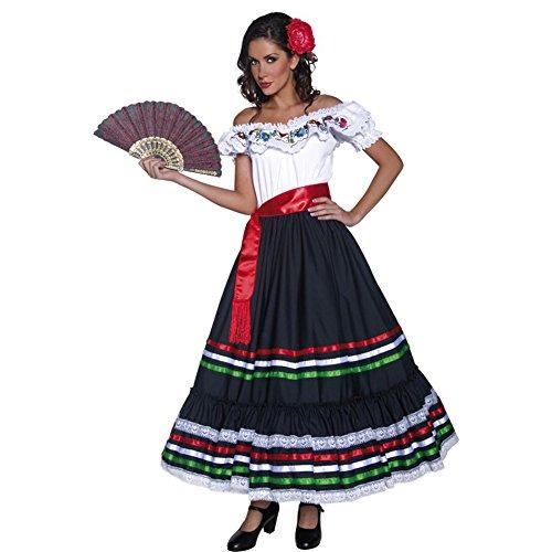 Disfraz de mejicana mujer TALLA S: Amazon.es: Juguetes y juegos