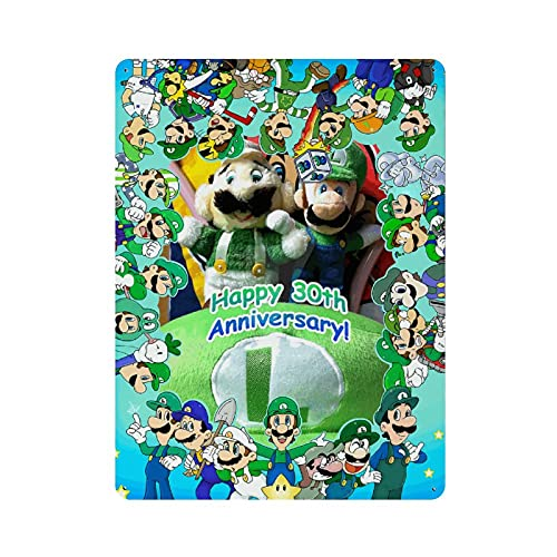 Luigi's Mansion King Boo 5D Diamond Painting Kits for Adults DIY Full Round Drill (12 x 16 inch) Crystal Rhinestone Embroidery Pictures Arts Paint by Number Kits Diamond Painting Kits for Home Wall De