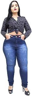 Calça Jeans Feminina Helix Plus Size Skinny Salet Azul