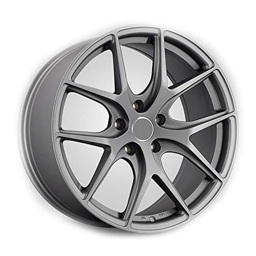 Alu Felgen 19 Zoll Durchfluss geschmiedete Radlegierung Ersatzrad Auto Rad Maschine Aluminium Felge Passend für R19*8.5J Reifen Geeignet für Golf Camry Atez cx-4 Civic Accord 1 Stück,U