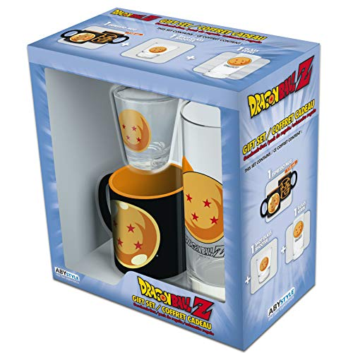 ABYstyle - Dragon Ball Pack Vaso 29 cl + Shooter + Mini Taza Crystal Ball