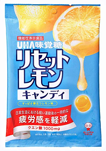 UHA味覚糖 リセットレモンキャンディ 112g×4袋