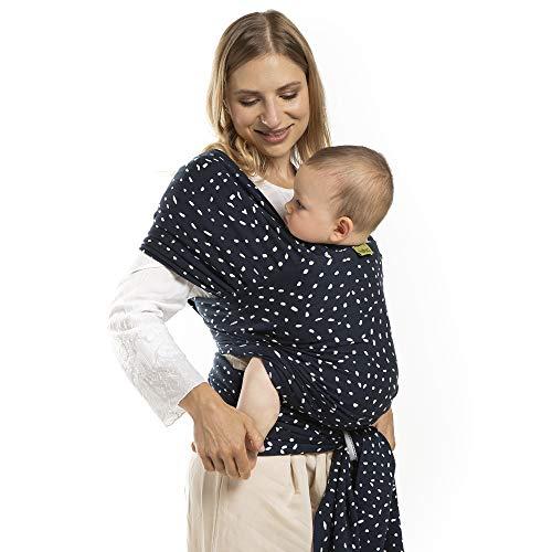Portabebés Boba, el original Portador de Bebés Elástico, Perfecto para Bebés Recién Nacidos y Niños de hasta 35 lbs. (Seville)