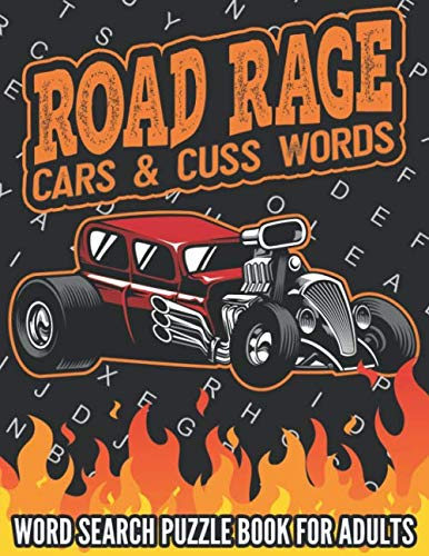 Road Rage Cars & Cuss Words - Word Search Puzzle