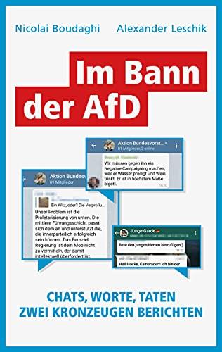 Im Bann der AfD: Chats, Worte, Taten – Zwei Kronzeugen berichten