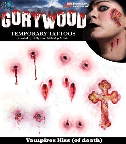 Vampires Kiss - Transferts Tinsley - Tatouages ??de Hollywood .