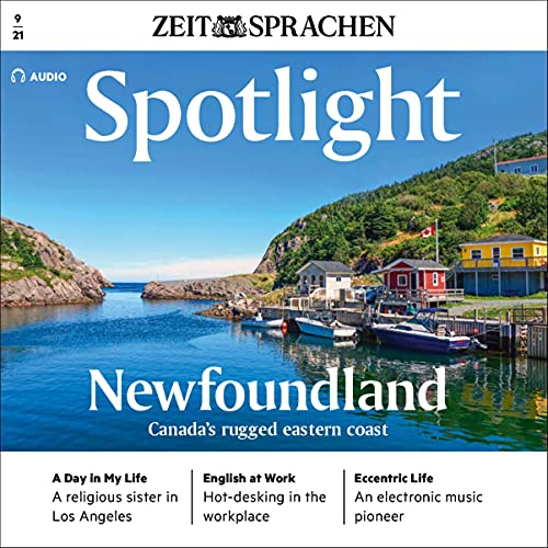 Spotlight Audio - Newfoundland, Canada's ragged eastern coast. 9/2021 Titelbild