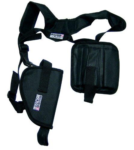 Swiss Arms Schulterholster aus Cordura horizontal mit 3 Magazintaschen, 201244