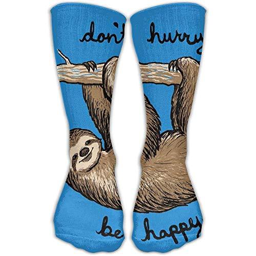 GHJL Lustige Socken mit Faultier-Motiv, Unisex, Knöchelsocken, passend für Schuhgröße 39-44