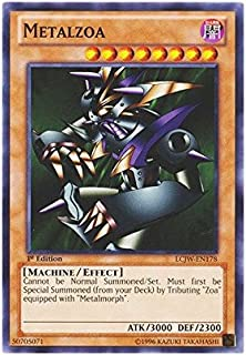 YU-GI-OH! - Metalzoa (LCJW-EN178) - Legendary Collection 4: Joey's World - 1st Edition - Common