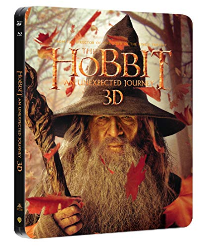 Hobit: Neocekavana cesta (4Blu-ray 3D+2D) steelbook (The Hobbit: An Unexpected Journey - steelbook) (Versión checa)