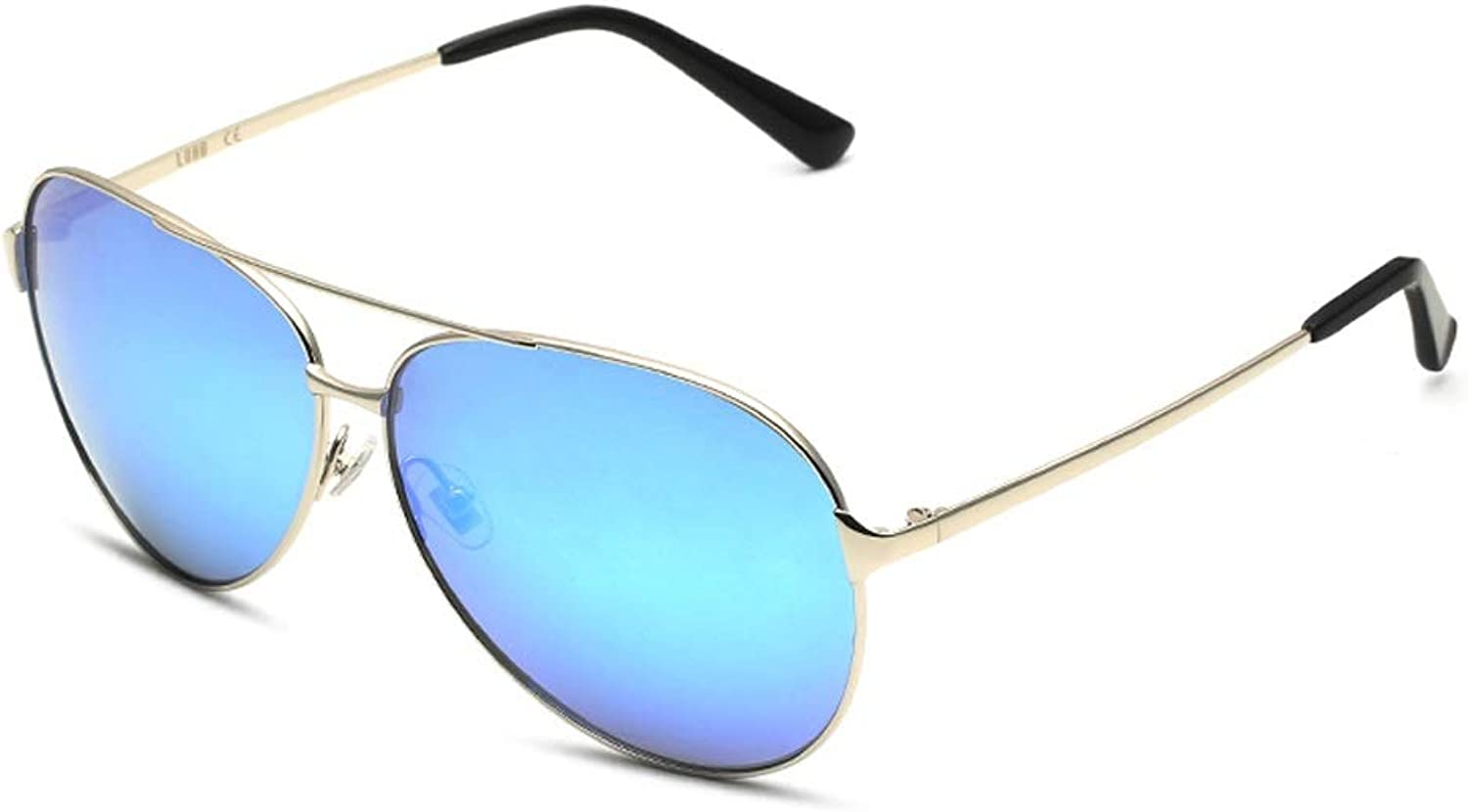 LFFTYJ Sunglasses, Sunglasses, Men's Glasses, Sunglasses, Polarized Trend, Beautiful Curved Unisex Give him (her) a Good Summer Gift (color   A)
