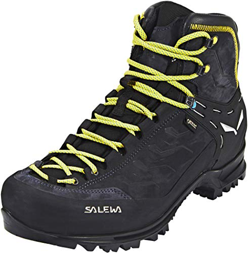 Salewa Ms Rapace Gtx, Botas de Senderismo Hombre, Multicolor (Night Black/Kamille 0960), 42.5
