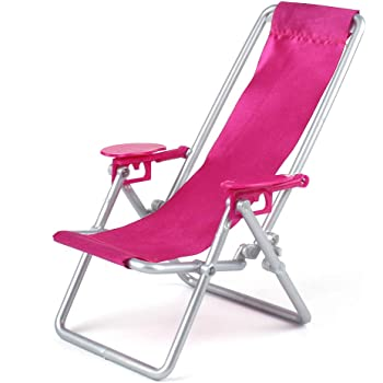 2pcs Rocking Beach Lounge Chair Living Room Garden Furniture for Wome Girl Doll