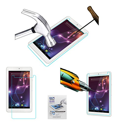 Acm Tempered Glass Screenguard Compatible with Lava Xtron Z704 Screen Guard Scratch Protector