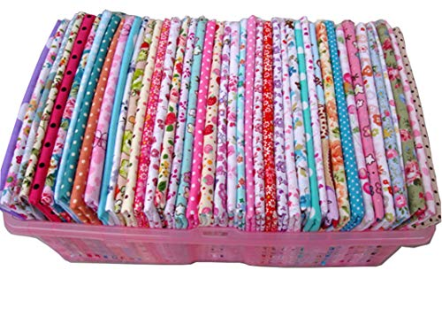 50 Stück 20cm * 25cm verschiedene Designs Baumwollgewebe,patchwork stoffe,baumwollstoff meterware,stoffe patchwork stoffpaket