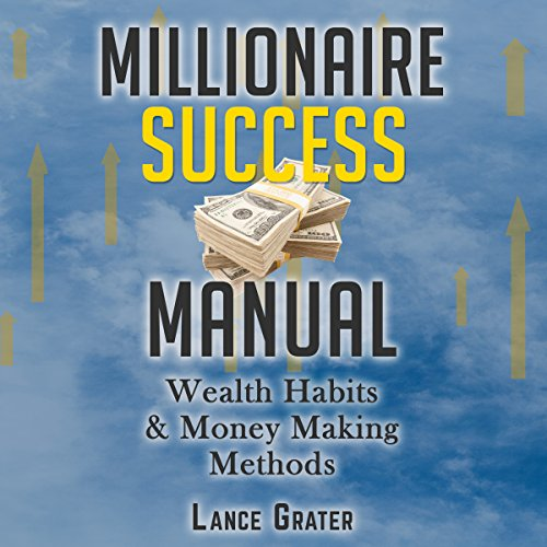 Millionaire Success Manual audiobook cover art