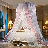 Dosel para habitación de niñas,Mosquitera Cama Matrimonio, Mosquitera Viaje, para niños, Princesa, Dormitorio o habitación de bebé