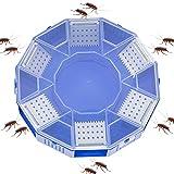 Trampa de cucarachas para cucarachas, atrapasueños de cucarachas, trampas para peces plateados, no tóxicas, reutilizables para el hogar y la cocina