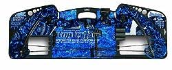 cheap Barnett 1108 Vortex H2O Junior Archery Bow, 31-45 lbs, Blue