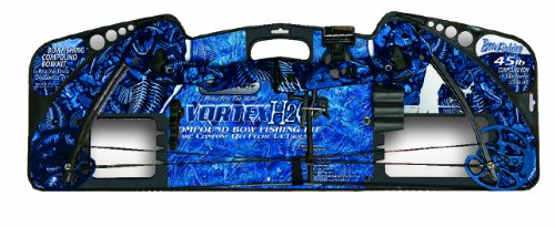 Barnett 1108 Vortex H2O Youth Archery Bow, 31-45-Pound,Blue