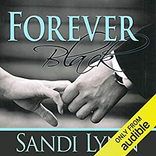 Forever Black audiobook cover art