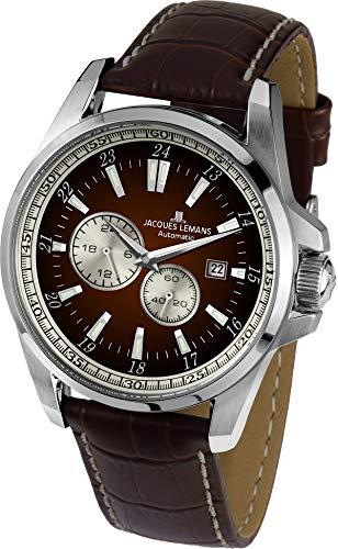 Jacques Lemans Liverpool Reloj Automático para hombres Clásico & sencillo