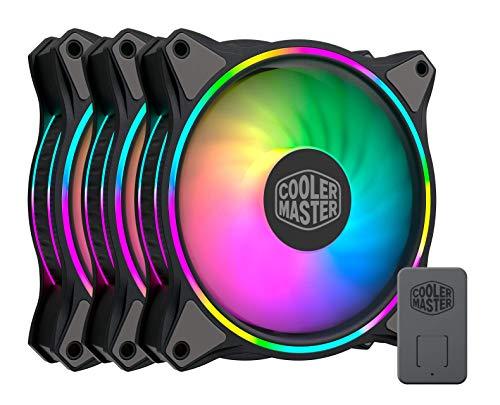 Kit Ventoinhas para Gabinete Cooler Master MasterFan MF120 HALO 3-in-1 Pack