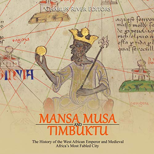Mansa Musa and Timbuktu audiobook cover art