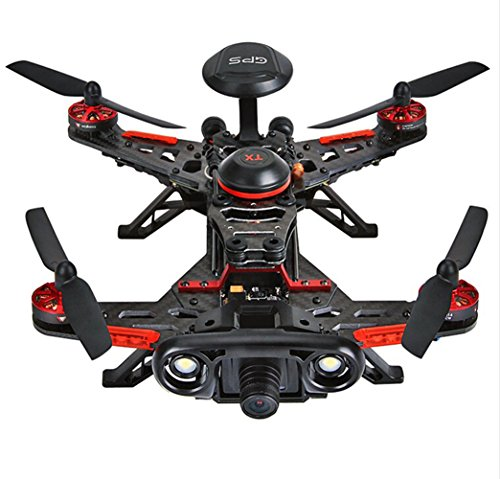 Walkera Runner 250 Advance GPS System RC Drone Quadcopter RTF with DEVO 7 Remote Control / OSD / Camera / GPS V4 (800TVL Camera)