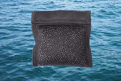 AKM - Bolsas llenas de lastre para buceo, 1 kg.