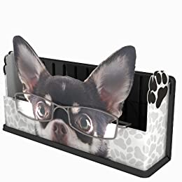 funny and cute dog eyeglasses holder