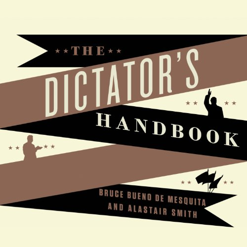 The Dictator's Handbook audiobook cover art