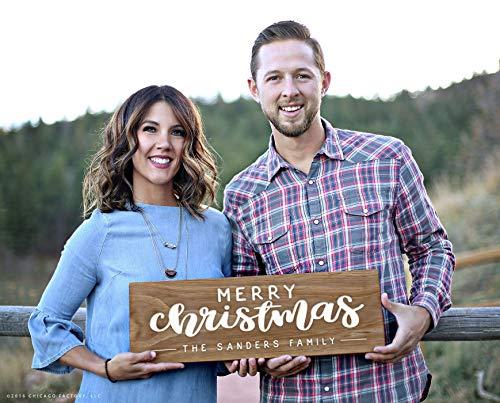 CELYCASY hout kerstborden kerstkaart foto teken vrolijk kersthout teken kerstversieringen ideeën beroemd