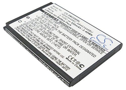 VINTRONS 3.7V Battery For Samsung SGH-F369, GT-S3030C, SGH-E189, GT-M2310, SGH-D520, GT-E1150