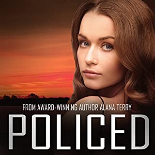 Policed audiobook cover art