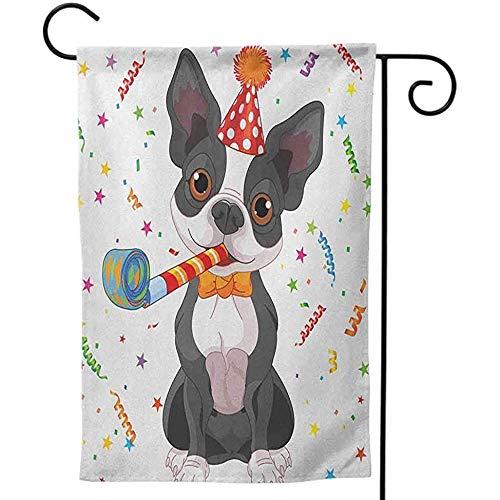 KL Decor dubbelzijdig afdrukken voor Thuis Kids Verjaardag Meisje Leuke Zoete Prinses Thema Afbeelding met Harten en Ballonnen Afbeelding