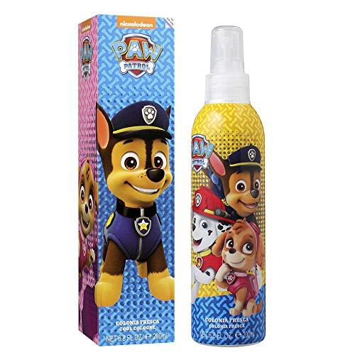 Paw Patrol verfrissende body spray met lief motief van Marshall en Chase - frisse citrus-geur voor jongens (Body Mist 200ml)