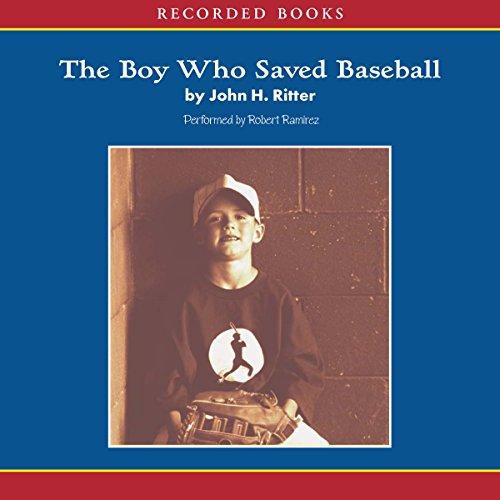 『The Boy Who Saved Baseball』のカバーアート