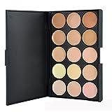 Pure Vie 15 Colores Corrector Camuflaje Paleta de Maquillaje Cosmética Crema - Perfecto para Sso Profesional y Diario