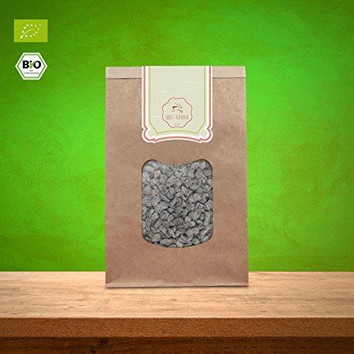 süssundclever.de® Bio Aprikosenwürfel | 1 kg | Aprikosen gehackt | plastikfrei und ökologisch-nachhaltig abgepackt