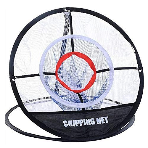 YXQQ Red De Apasionamiento De Golf Portátil, Embalar Redes De Golf con Una Bolsa, Tubo De Fibra Flexible De Material Flexible Material Metal De Nylon, Práctica del Swing Precisión