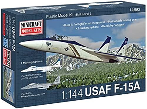 Minicraft 1 144 U.S. Air Force F-15A Eagle by Minicraft Models