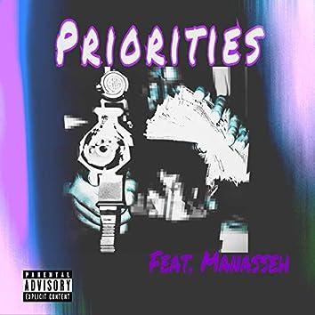 Priorities (feat. Manasseh)
