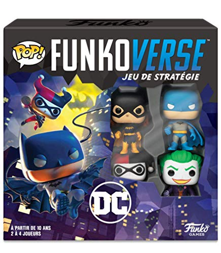Funko- Pop Funkoverse: Gotham City Rumble Board Game, 43462, Multicolor