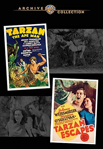 Tarzan The Ape Man / Tarzan Escapes [Edizione: Stati Uniti] [Italia] [DVD]