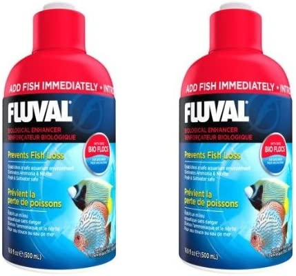 Now free shipping Fluval Biological Enhancer for Pack 5% OFF 2 Aquariums